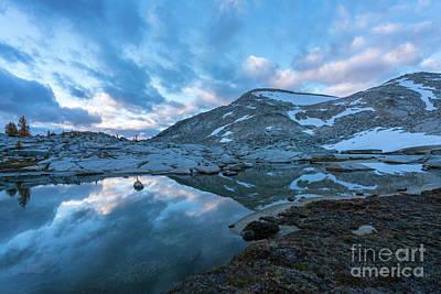 Photograph - Enchantments Blue Cloudscape by Mike Reid