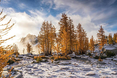 Photograph - Enchantments Dramatic Fall Beauty by Mike Reid