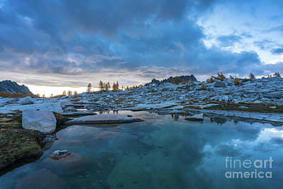 Photograph - Enchantments Early Morning by Mike Reid