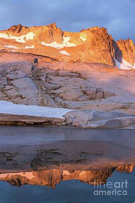 Photograph - Enchantments Golden Peak by Mike Reid
