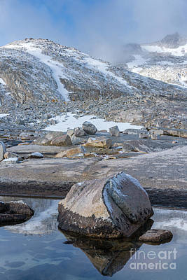Photograph - Enchantments Granite Landscape by Mike Reid