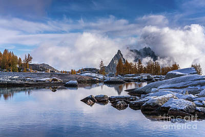 Photograph - Enchantments Pools Of Granite by Mike Reid
