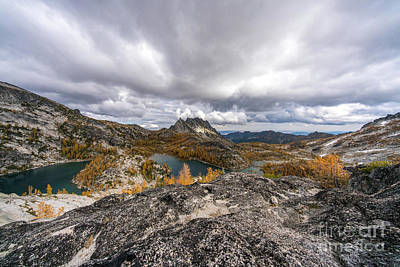 Photograph - Enchantments Prusik Peak And Beyond by Mike Reid