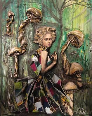 Painting - Enchantress by J Edward Neill