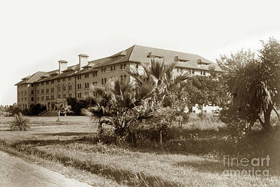 Photograph - Encina Hall Stanford University Circa 1895 by California Views Mr Pat Hathaway Archives