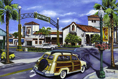 Painting - Encinitas Dreaming Again by Lisa Reinhardt