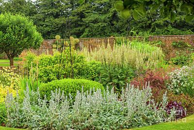 Photograph - Enclosed English Garden by Patricia Hofmeester