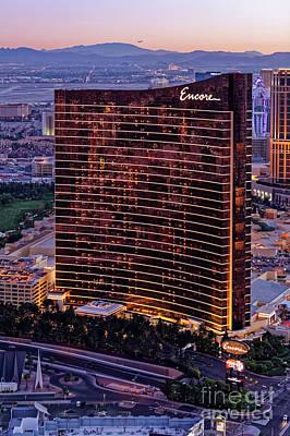 Encore Photograph - Encore Hotel, Las Vegas by Sv