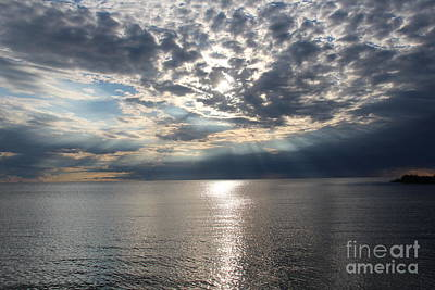 Michigan Port Huron Photograph - End Of A Perfect Day by Art Kurgin