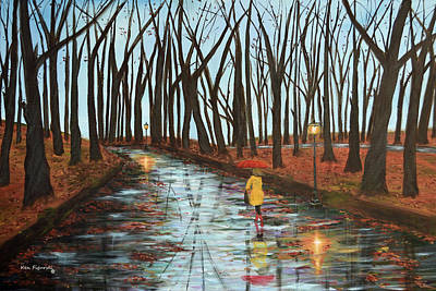 End Of Autumn Original by Ken Figurski