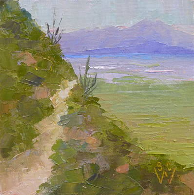 Painting - End Of Day At Gates Pass by Susan Woodward