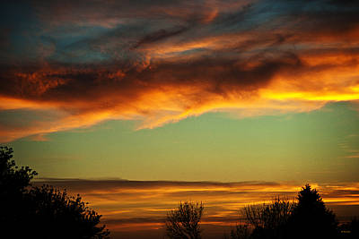 Photograph - End Of Day by Edward Peterson