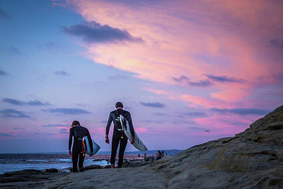 Surf Lifestyle Photograph - End Of Day by Peter Tellone