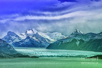 Mellow Yellow - End of Glacier by Rick Bragan