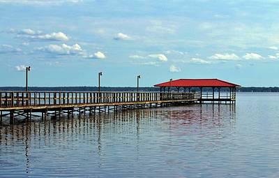 Photograph - End Of Pier by Cynthia Guinn
