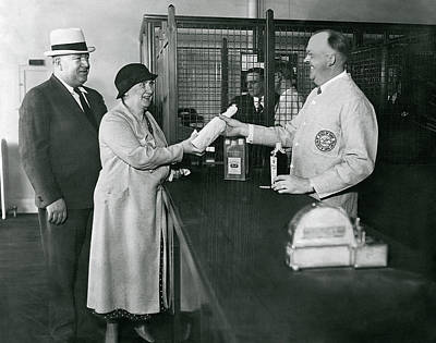 Photograph - End Of Prohibition Transaction 1934 by Daniel Hagerman
