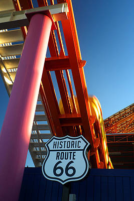 Photograph - End Of Route 66 2 by George Taylor