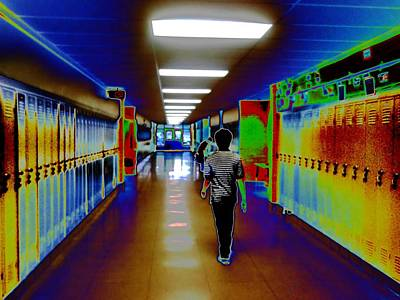 Photograph - End Of School Day By Erik Akerman  by Beth Akerman