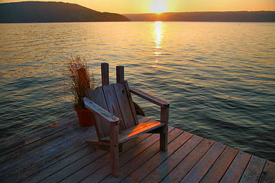 Keuka Photograph - End Of Summer II by Steven Ainsworth