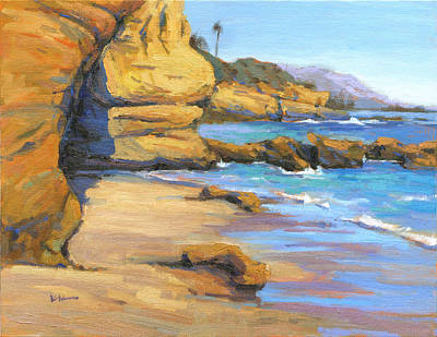 Painting - End Of Summer / Laguna Beach by Konnie Kim