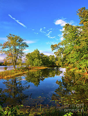 Petrie Island Photograph - End Of Summer.. by Nina Stavlund