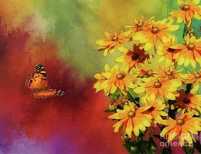 Digital Art - End Of Summer by Suzanne Handel