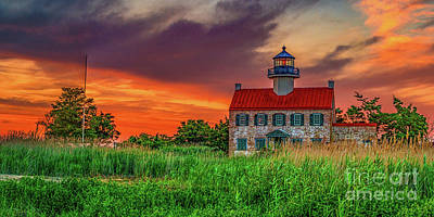 Photograph - End Of The Day At East Point by Nick Zelinsky