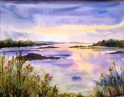 Painting - End Of The Day by Diane Kirk
