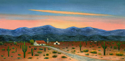 Scottsdale Painting - End Of The Day by Gordon Beck