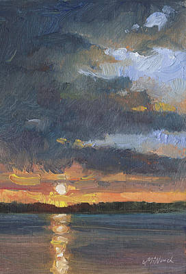 Painting - End Of The Day by Michel McNinch