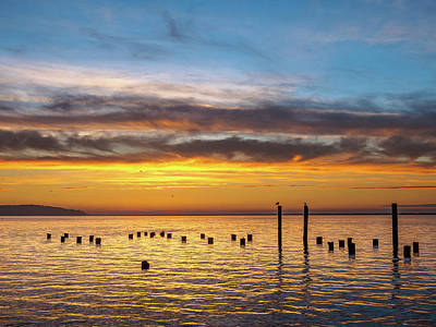 Photograph - End Of The Day On Humboldt Bay by Greg Nyquist
