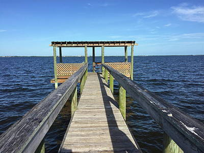 Photograph - End Of The Dock by Denise Mazzocco