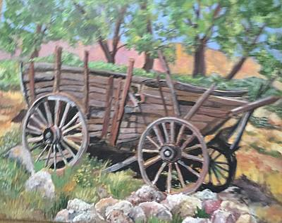 Painting - Trails End by Charme Curtin