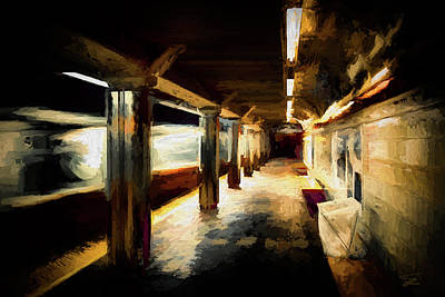 Painting - End Of The Line by Thomas Logan