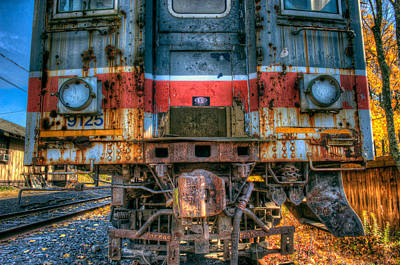 Photograph - End Of The Line by William Jobes