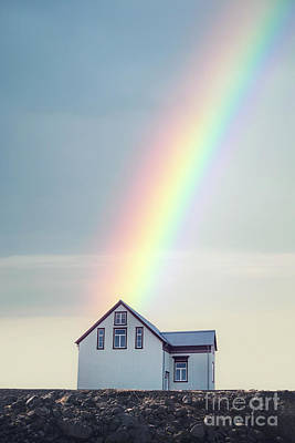 Photograph - End Of The Rainbow by Evelina Kremsdorf