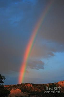 Photograph - End Of The Rainbow by Tony Baca