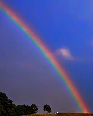 Walter Gantt Wall Art - Photograph - End Of The Rainbow by Walter Gantt