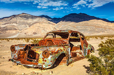 Panamint Valley Photograph - End Of The Road by James Marvin Phelps
