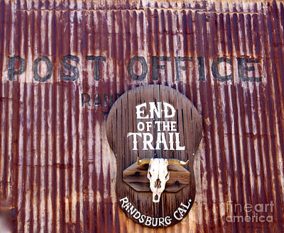 Photograph - End Of The Trail by Suzanne Lorenz