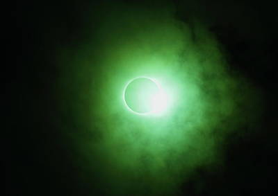 Photograph - End Of Totality by Daniel Reed