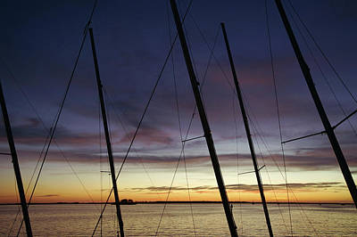 Photograph - End To A Day Of Sailing  by Daniel Woodrum