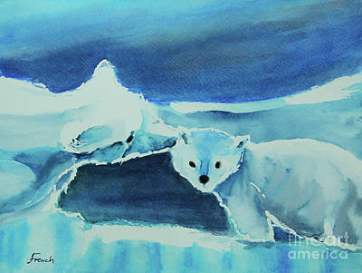 Painting - Endangered Bears by Jeanette French