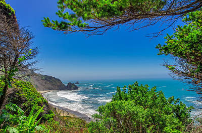 Blue Highway Photograph - Endert's Beach Redwoods National Park by Scott McGuire
