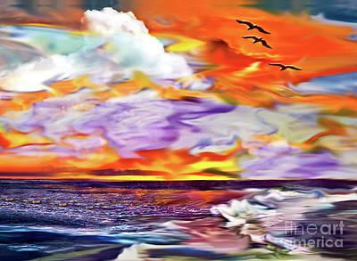 Digital Art - Endings And Beginnings by Laurel D Rund