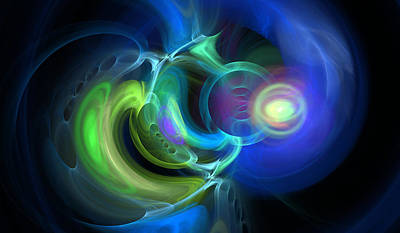 Outlook View Digital Art - Endless by Brainwave Pictures