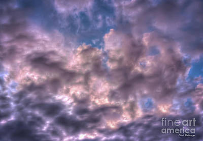 Photograph - Endless Clouds Sunrise Weather Art by Reid Callaway