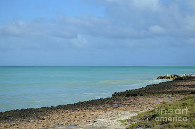Photograph - Endless Horizon As Seen From The Coast Of Aruba by DejaVu Designs