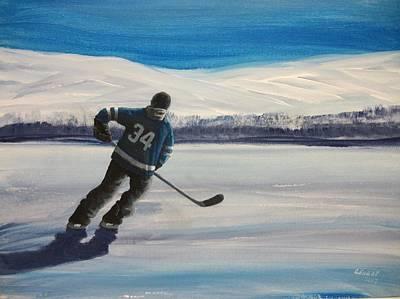 Endless Ice 34 Art Print
