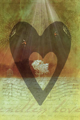 Digital Art - Endless Love by Holly Kempe